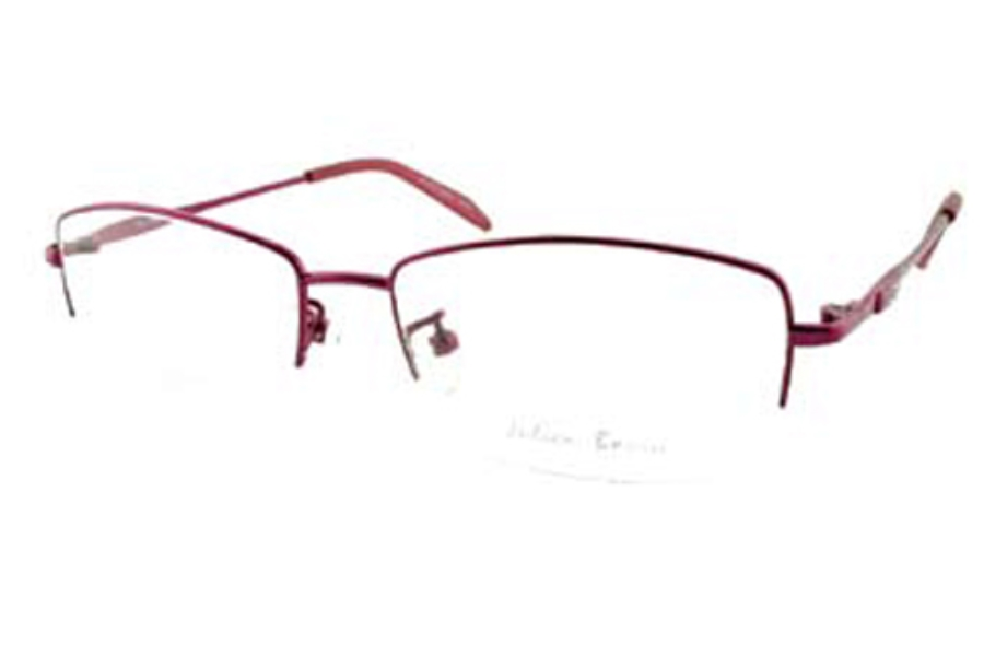 Julien Bonia BN1669 Eyeglasses in Berry