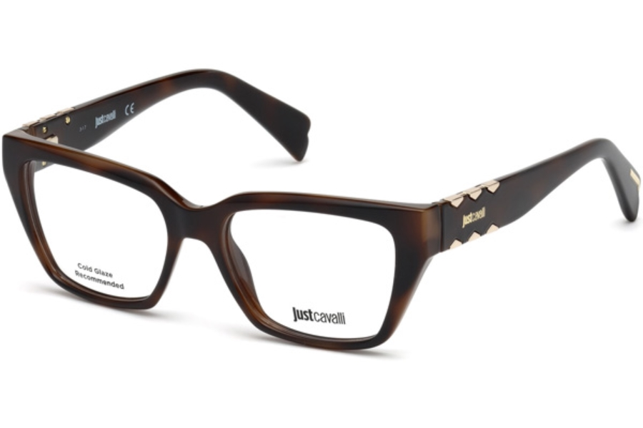 Just Cavalli JC0812 Eyeglasses in 052 - Dark Havana