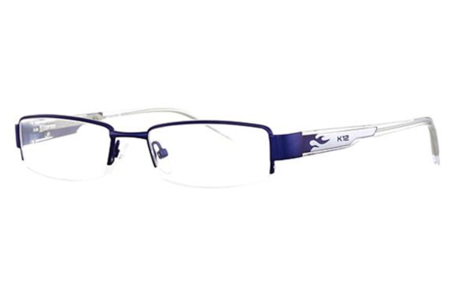 K-12 4041 Eyeglasses in Blue/Silver