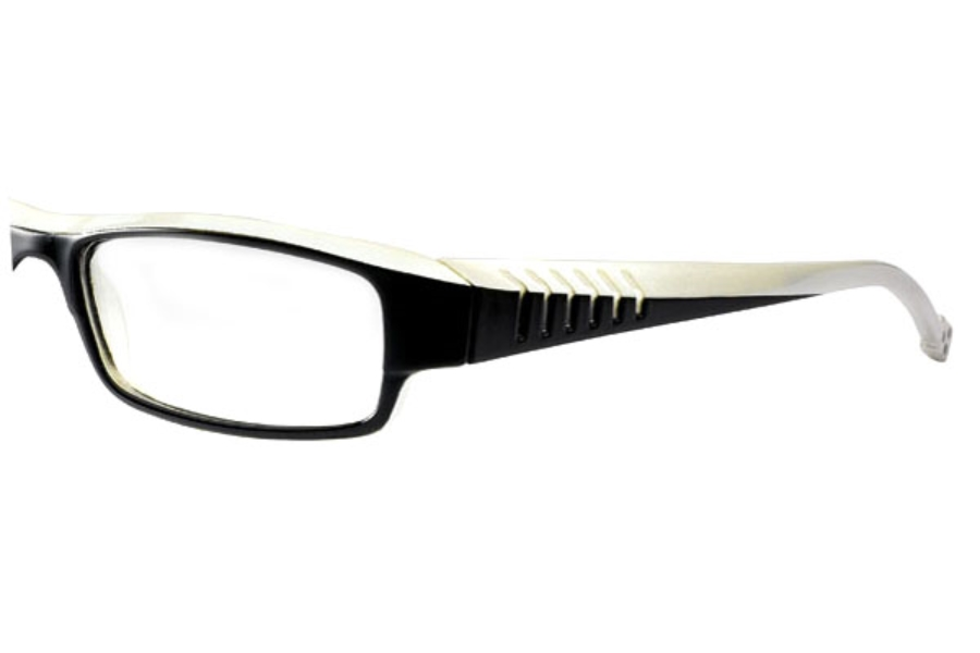 K-Actor KV798 Eyeglasses in Black/White (C35)