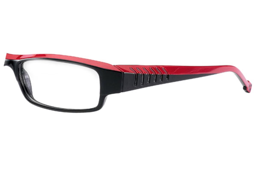 K-Actor KV798 Eyeglasses in Black/Red (C52)