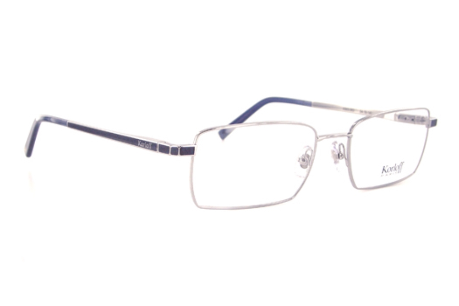 60f1e4f10bb Korloff Paris K003 Eyeglasses in K003-003 Shiny Dark Ruthenium ...