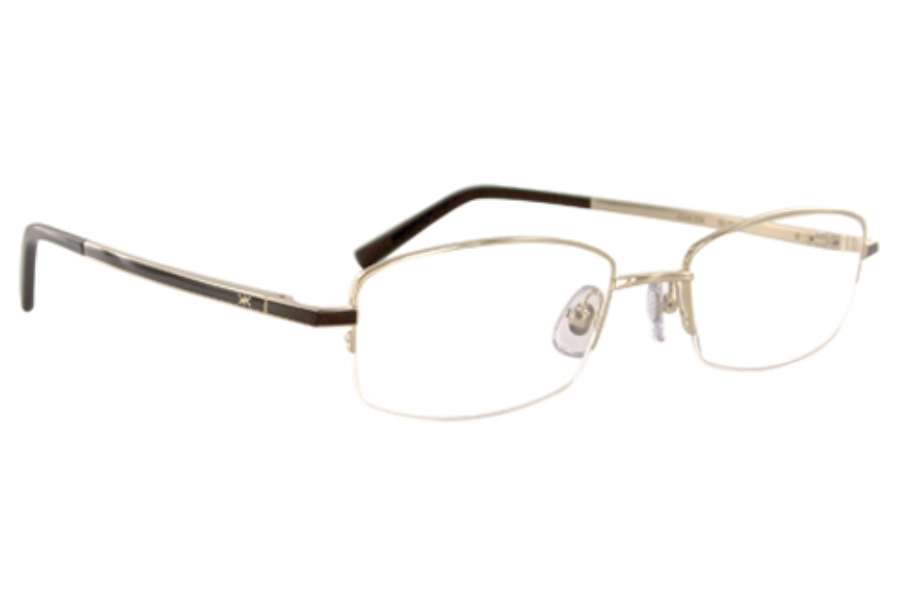 Korloff Paris K006 Eyeglasses in K006-004 Shiny Gold Champ