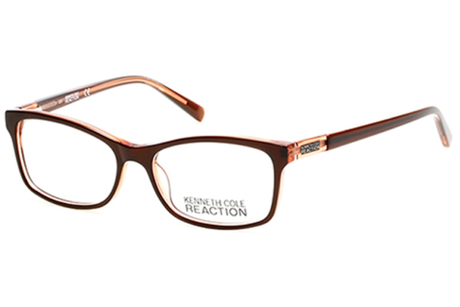 Kenneth Cole Reaction KC0781 Eyeglasses in 050 - Dark Brown/Other