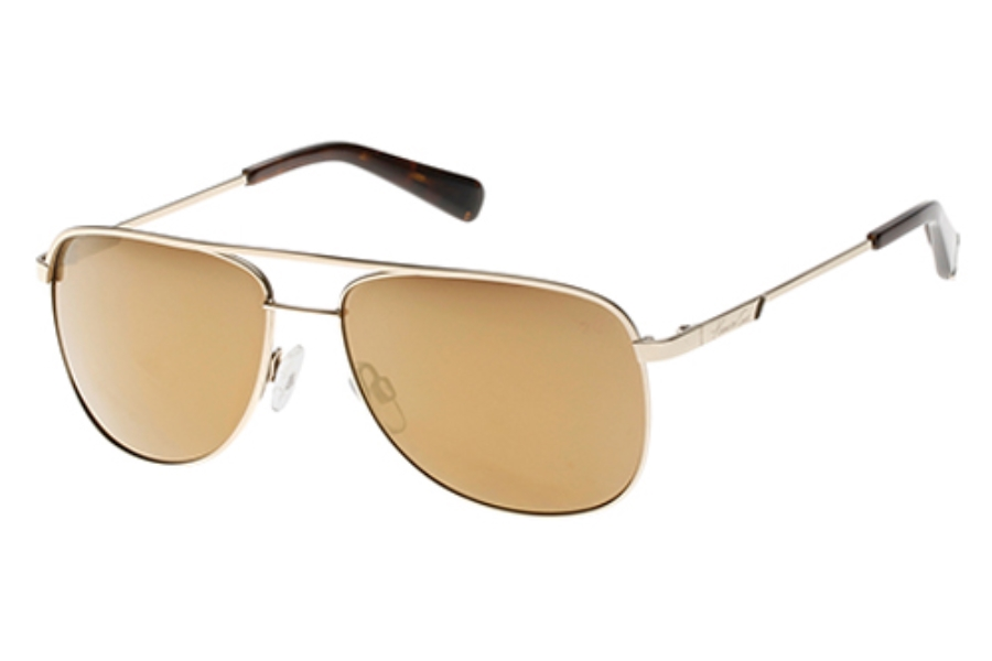 Kenneth Cole New York KC7153 Sunglasses in 32G Gold / Brown Mirror