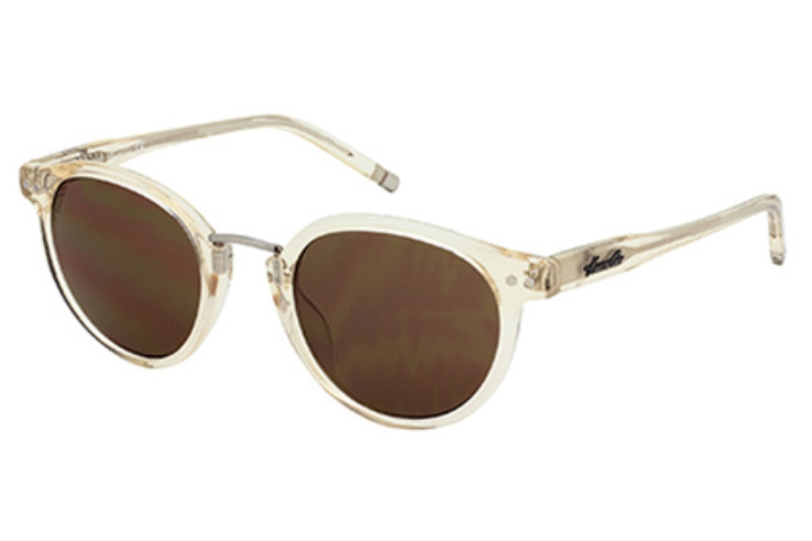 Kenneth Cole New York KC7095 Sunglasses in 27E Crystal/Other / Brown