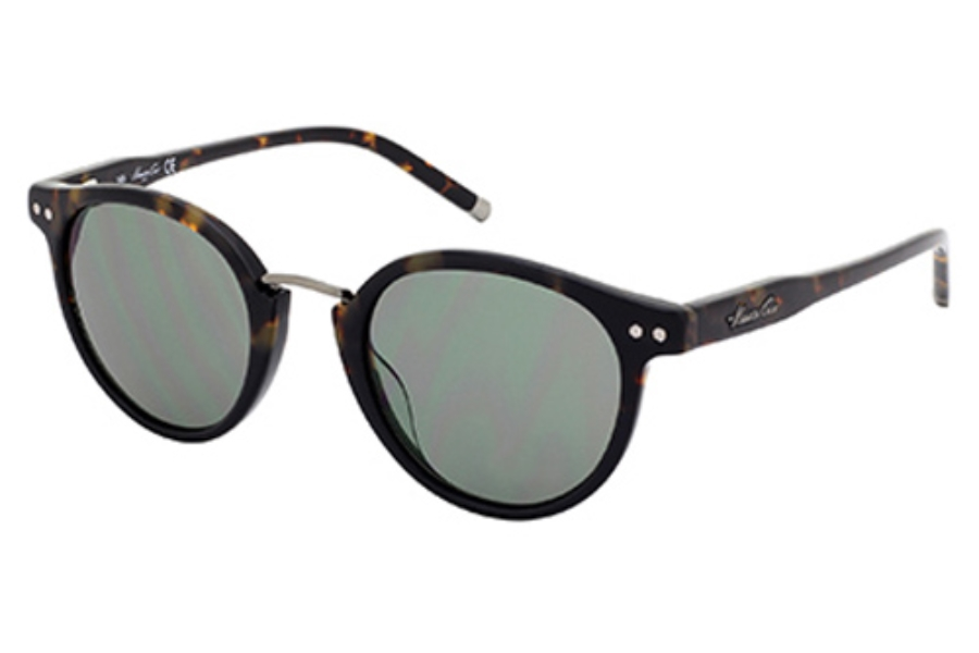 Kenneth Cole New York KC7095 Sunglasses in 55N Coloured Havana / Green
