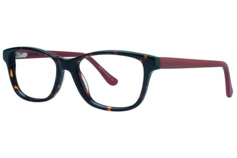 Kensie Girl Delight Eyeglasses in Tortoise