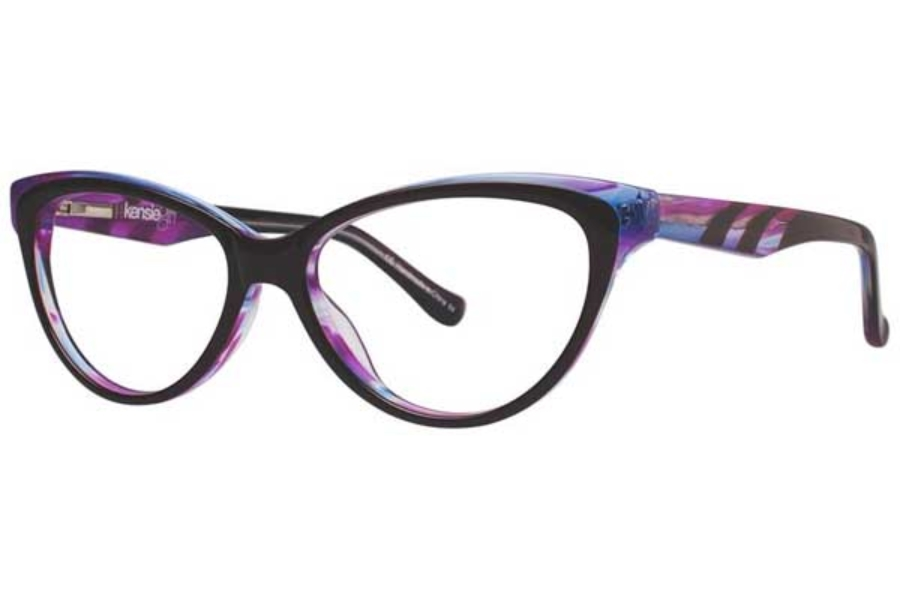 Kensie Girl Glee Eyeglasses in Purple