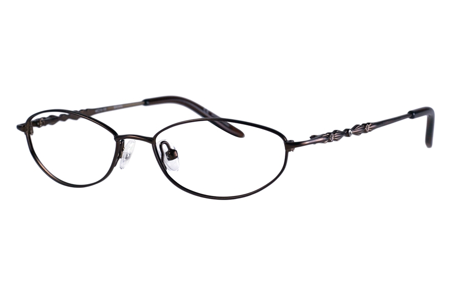 Karen Kane Petites Henna Eyeglasses in Brown