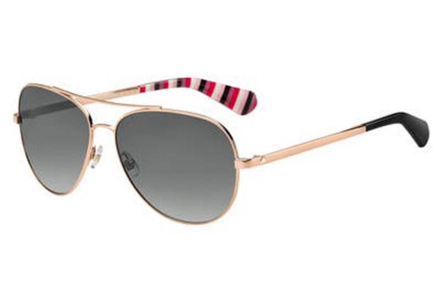 c42d6daff771 ... Kate Spade AVALINE 2/S Sunglasses in 0AU2 Red Gold (WJ gray sf pz ...