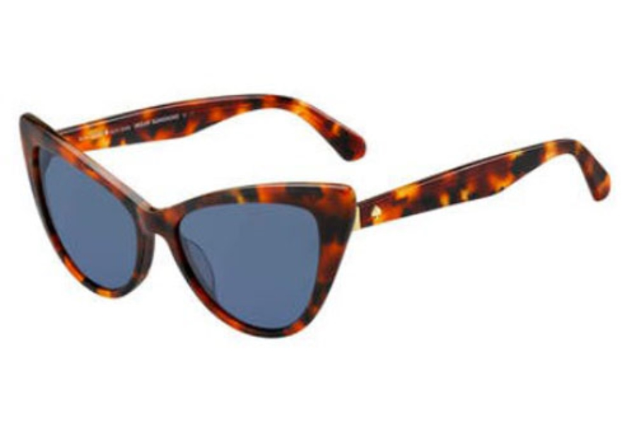 Kate Spade KARINA/S Sunglasses in 0C9A Red (KU blue avio lens)