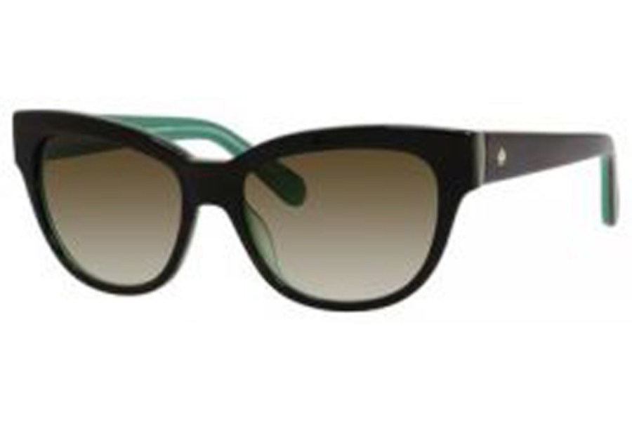 80299dc315f0f ... Kate Spade AISHA S Sunglasses in 0X59 Brown Horn Jade (Y6 Brown Gradient  Lens ...
