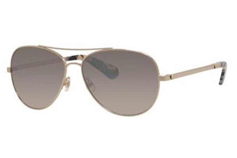 b3b4625c6fbd ... Kate Spade AVALINE 2/S Sunglasses in 006J Gold Havana (NQ brown mirror  gradient ...