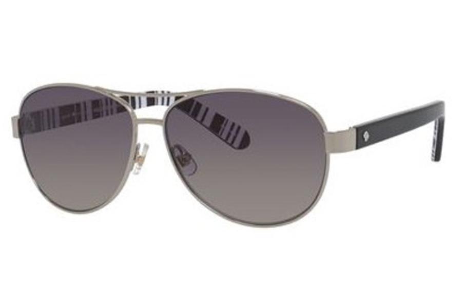 8a00a281824f Kate Spade DALIA 2/P/S Sunglasses in 079D Silver Black (WJ gray ...