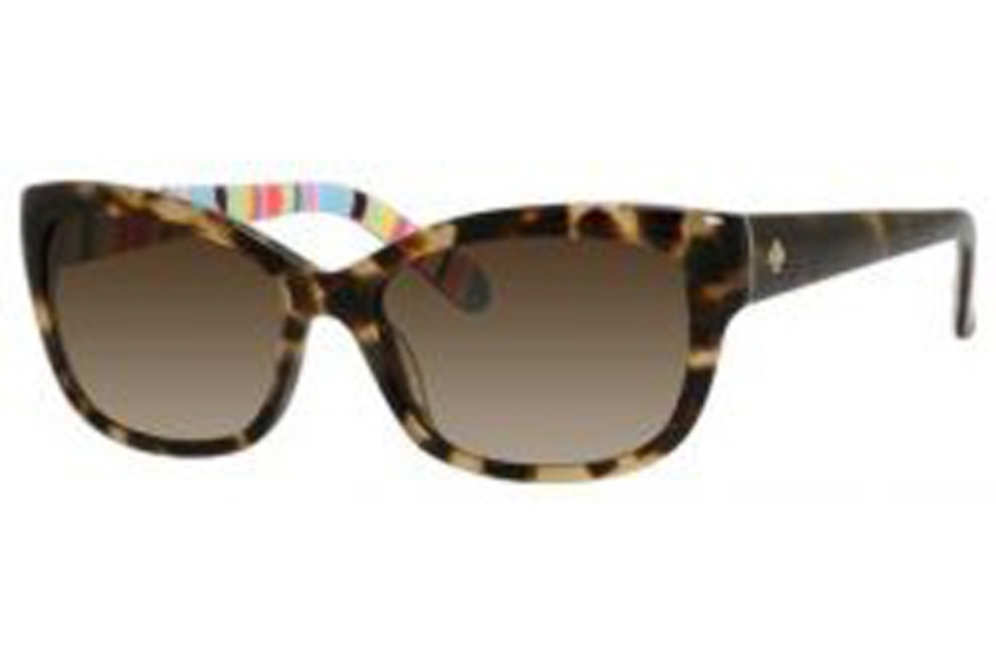 15003ebe494a ... Kate Spade JOHANNA/S Sunglasses in 0X03 Camel Tortoise Ripe (Y6 Brown  Gradient Lens ...