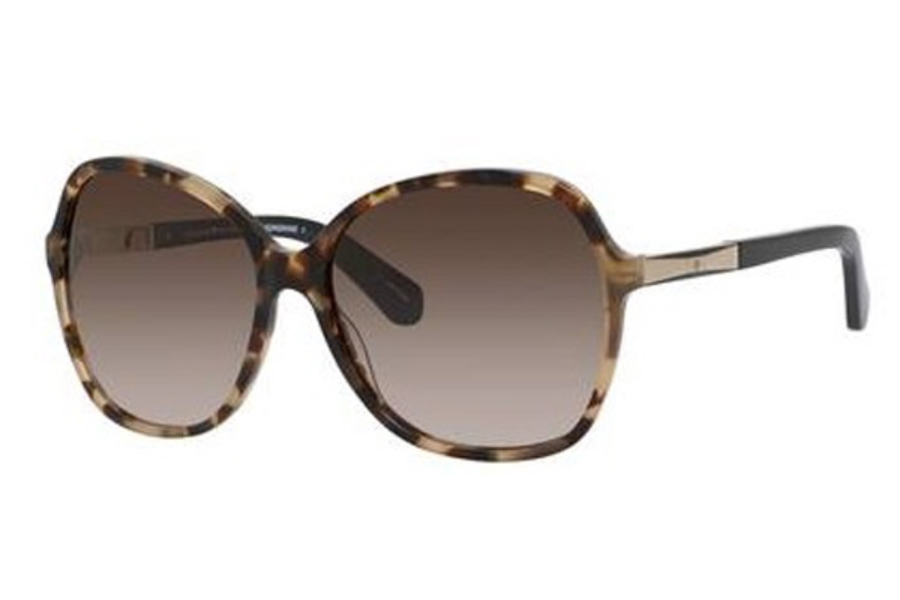 2dda8a95891e Kate Spade JOLYN/S Sunglasses in 0581 Havana Black (HA Brown Gradient Lens)  ...