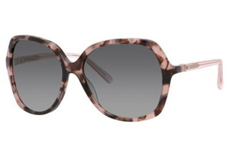Kate Spade JONELL/S Sunglasses in 0RS3 Havana Pink (F8 gray gradient lens)