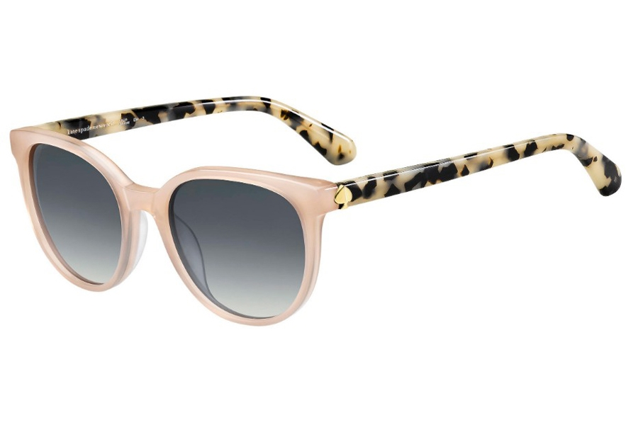 Kate Spade MELANIE/S Sunglasses in 0FWM Nude (9O Dark Gray Gradient)