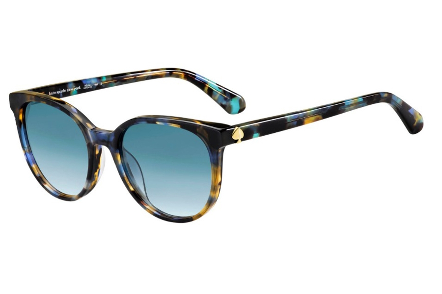 Kate Spade MELANIE/S Sunglasses in 0PJP Blue (08 Dark Blue Gradient)