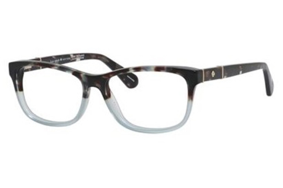 Kate Spade MYRNA Eyeglasses in 0JBW Blue Havana