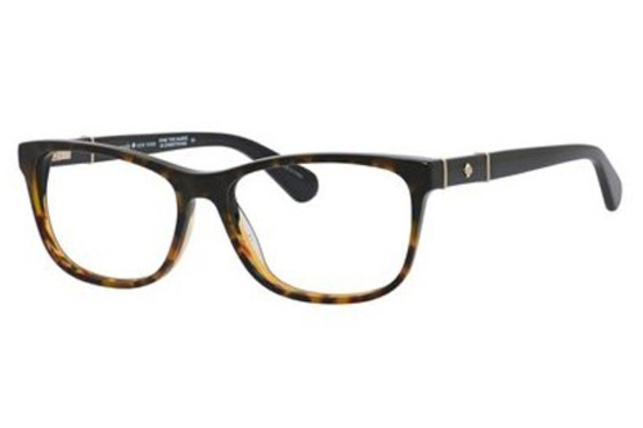 Kate Spade MYRNA Eyeglasses in 0WR7 Black Havana