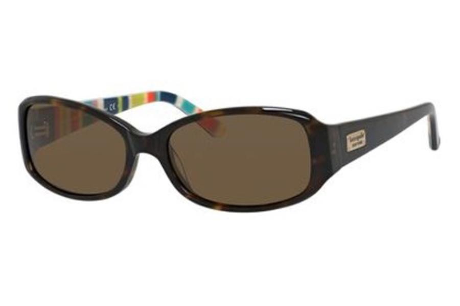 9874c0189f7 Kate Spade PAXTON N S Sunglasses in X76P Tortoise Striped (VW dark brown ...