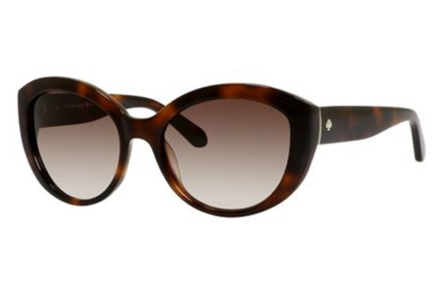 Kate Spade SHERRIE/S Sunglasses in 005L Blonde Havana (B1 Warm Brown Gradient Lens)
