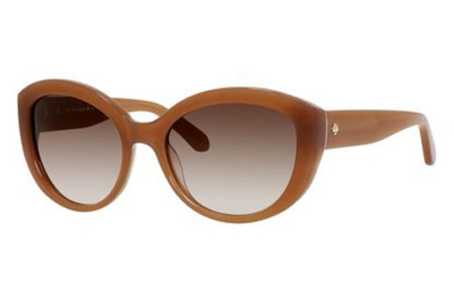 Kate Spade SHERRIE/S Sunglasses in 0JSU Brown (B1 Warm Brown Gradient Lens)