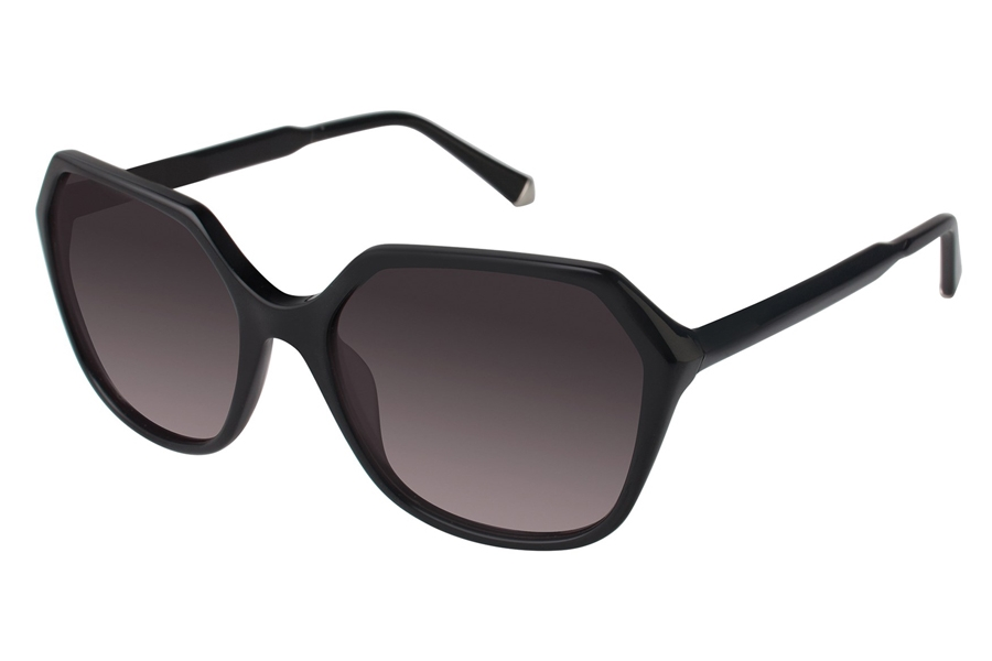 Kate Young K513 Donna Sunglasses in BLK Black