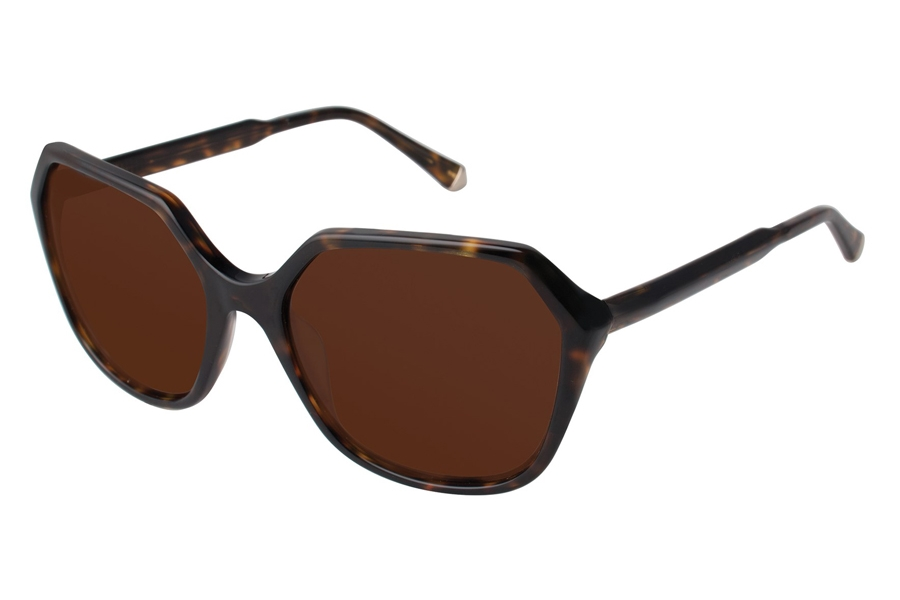 Kate Young K513 Donna Sunglasses in TOR Tortoise