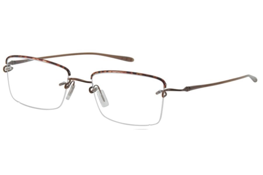 f554d6ae769 ... 36 Black Shiny Graphite  Kazuo Kawasaki MP718 TB Eyeglasses in 03  Demi Bronze ...