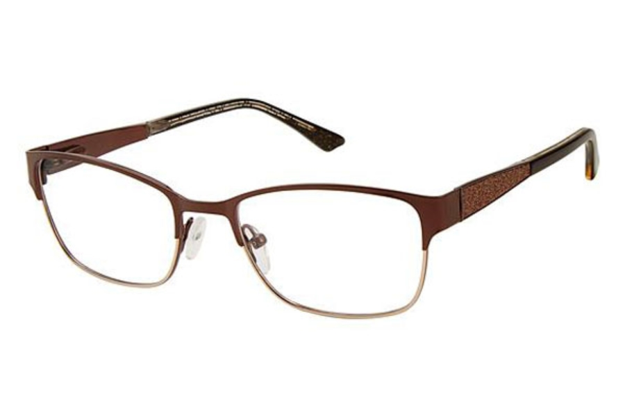 Kay Unger K215 Eyeglasses in Brown