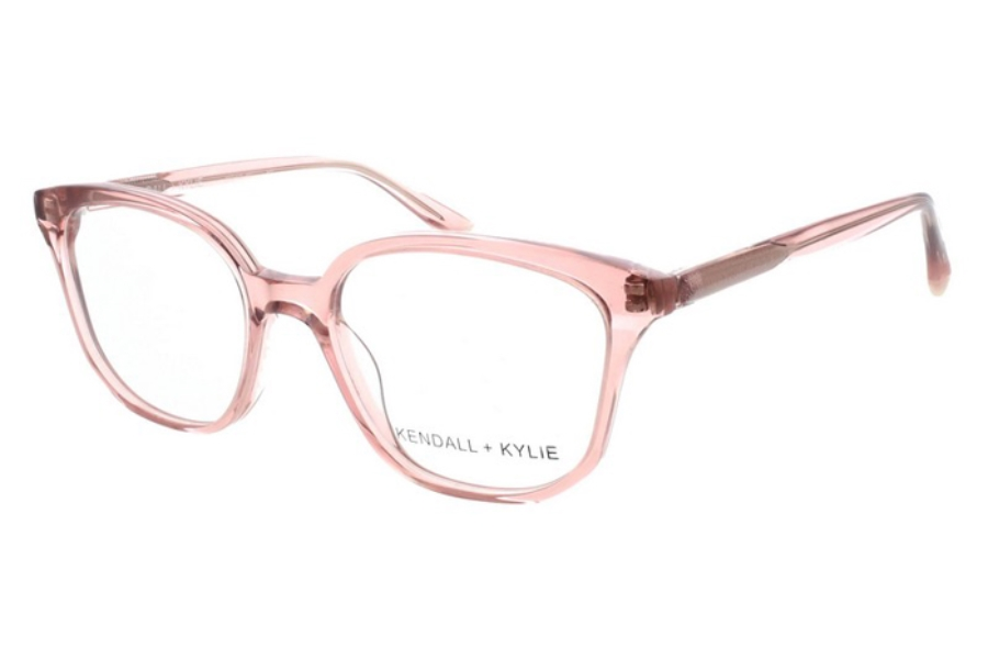 Kendall + Kylie Zoey Eyeglasses in 651 Burnt Blush Crystal