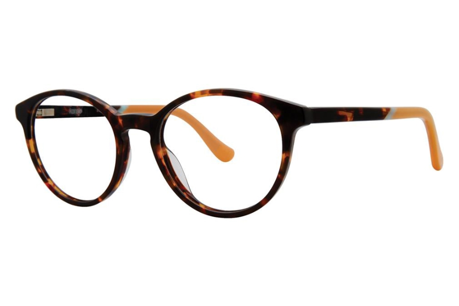 Kensie Girl Fly Eyeglasses in Dark Tortoise