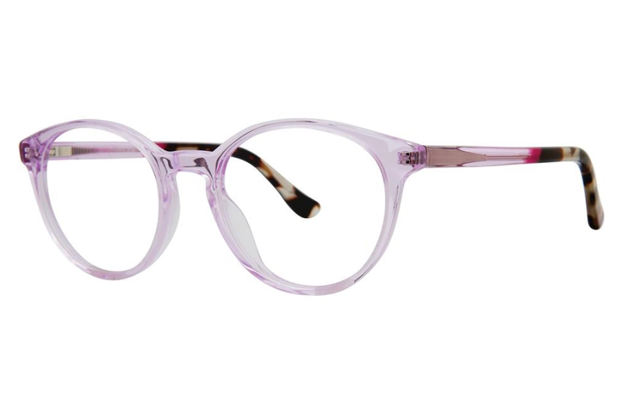 Kensie Girl Fly Eyeglasses in Pink Crystal
