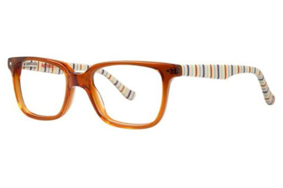Kensie Girl Upbeat Eyeglasses in Amber