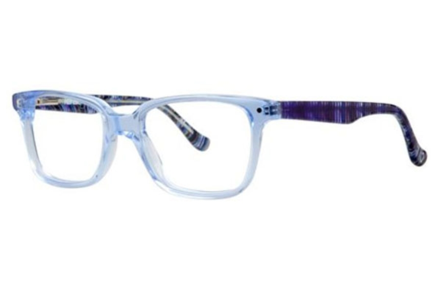 Kensie Girl Upbeat Eyeglasses in Blue