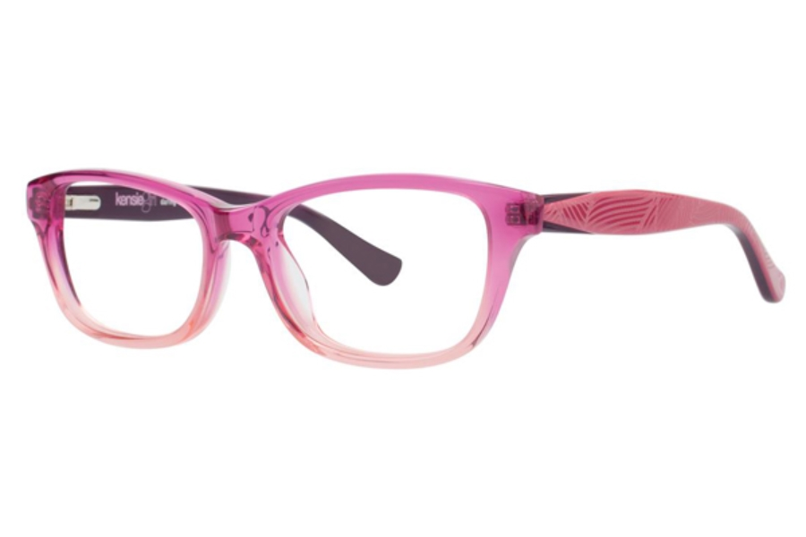 Kensie Girl Daring Eyeglasses in Pink