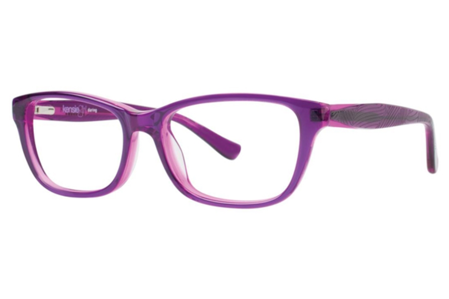 Kensie Girl Daring Eyeglasses in Purple