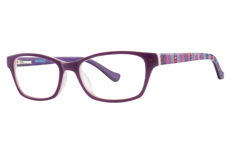 Kensie Girl Wonder Eyeglasses in Grape