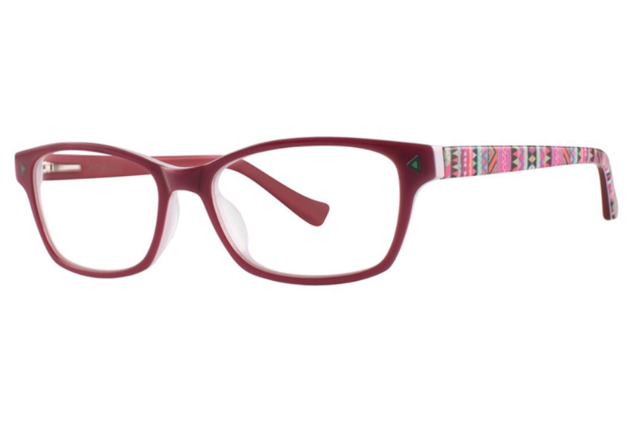 Kensie Girl Wonder Eyeglasses in Rose Pink