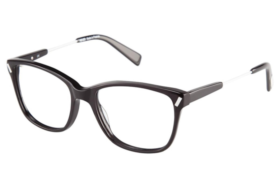 Kenzo 2254 Eyeglasses in C01 Black/White