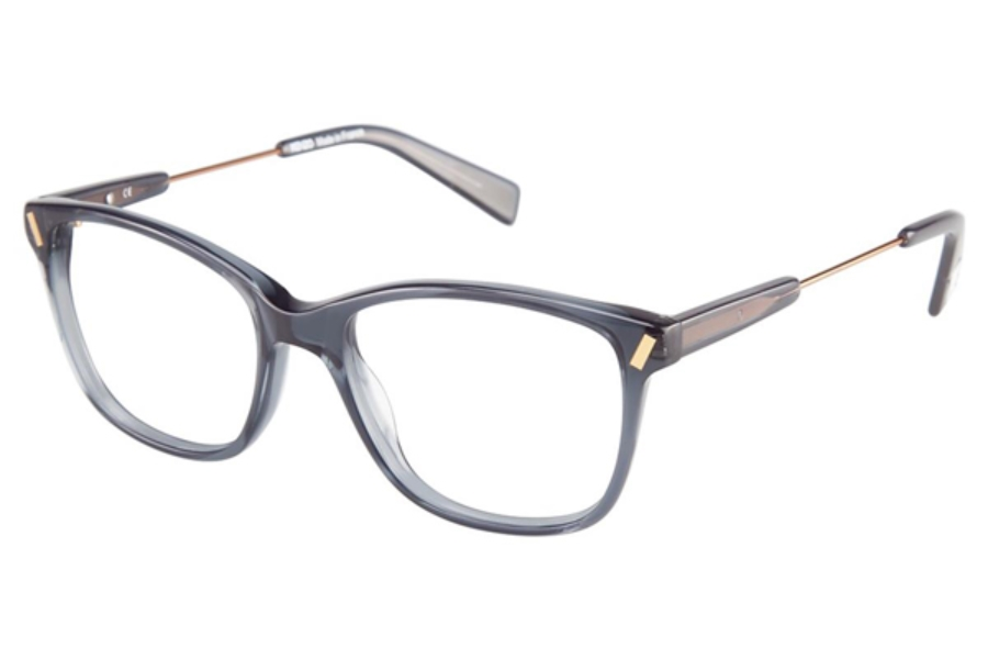 Kenzo 2254 Eyeglasses in C02 Grey/Gold