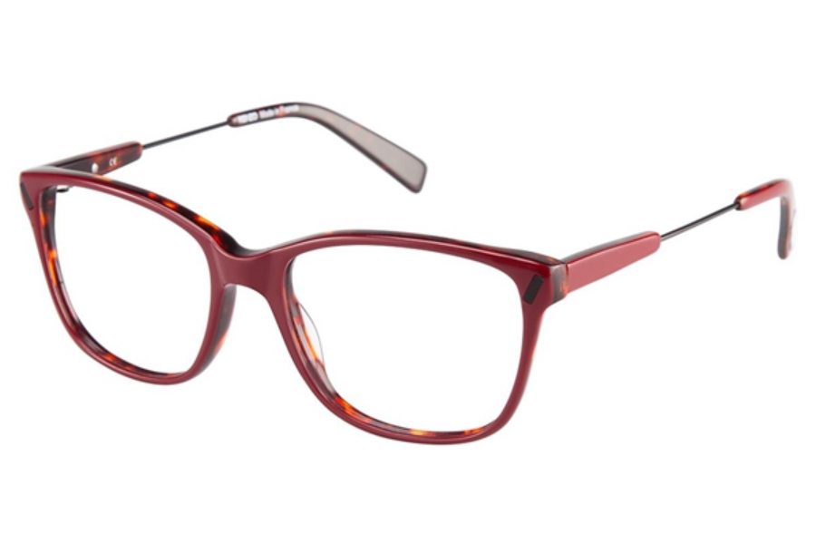 Kenzo 2254 Eyeglasses in C03 Red/Black