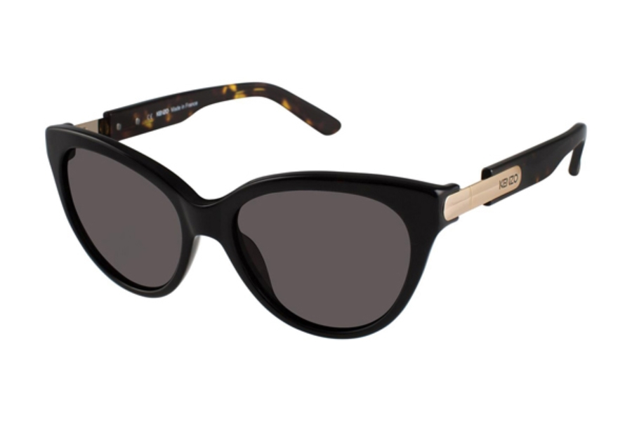 Kenzo 3199 Sunglasses in C01 Black - Grey