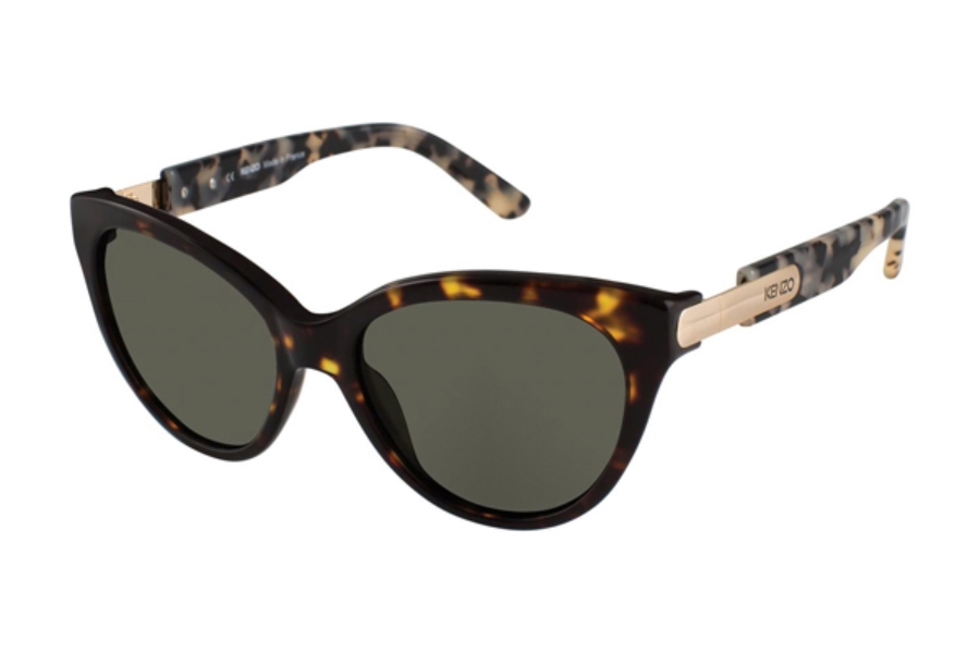 Kenzo 3199 Sunglasses in C03 Tortoise - Green
