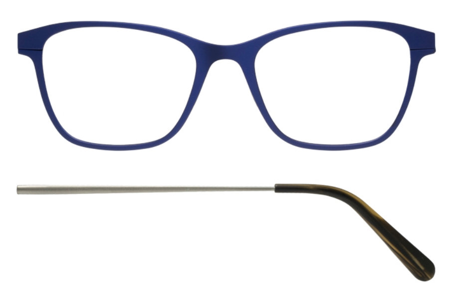 Kilsgaard 56 (Aluminium Temple) Eyeglasses in 56.4/2 Blue (Discontinued)