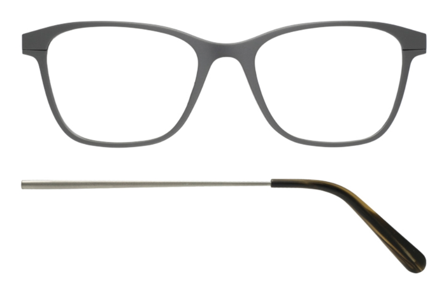 Kilsgaard 56 (Aluminium Temple) Eyeglasses in 56.2/2 Gun (Discontinued)