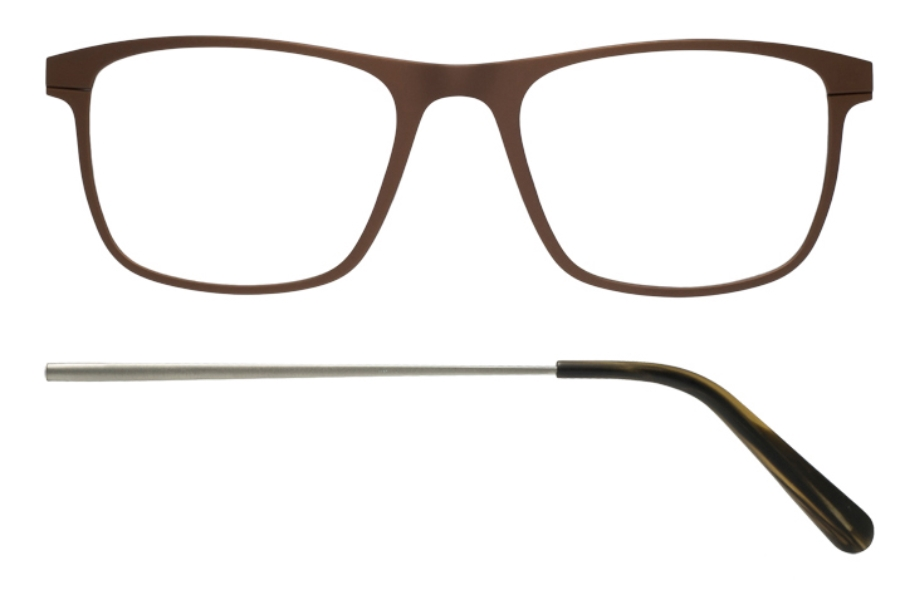 Kilsgaard 57 (Aluminium Temple) Eyeglasses in 57.6/6 Bronze